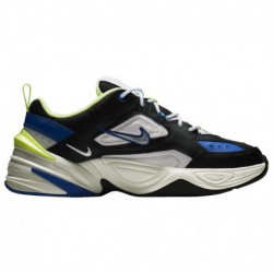 Nike M2k Tekno Black Royal Volt Nike M2k Tekno - Men's Black/Metallic Silver/barely Volt/Sail