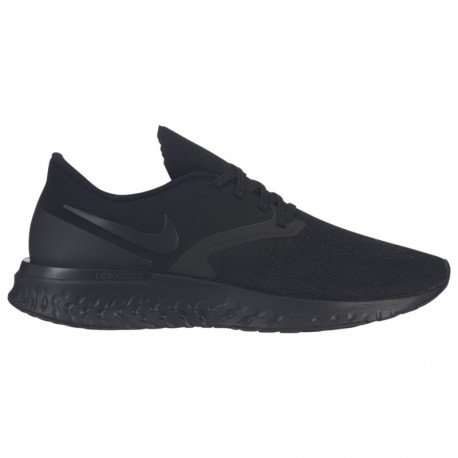 Nike Odyssey React Womens Black Nike Odyssey React 2 Flyknit - Men's Black/Black/White