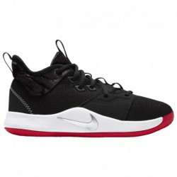 boys nike pg 3 nike pg 2 black red nike pg 3 boys grade school george paul black white university red