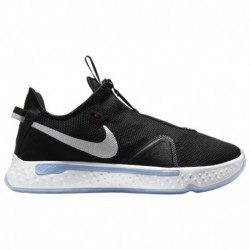kids grade school nike pg 2 basketball shoes white nike pg 1 nike pg 4 boys grade school george paul black white light grey smo