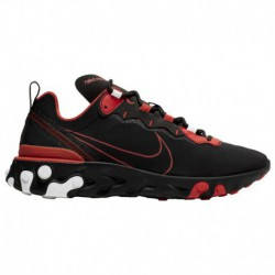 Nike React Element 55 Men's Red Nike React Element 55 Eos - Men's Black/Red/White