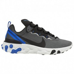 Nike React Element Racer Blue Nike React Element 55 - Men's Black/Black/Racer Blue/Summit White | Se