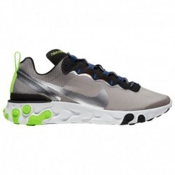 Nike React Element Pumice Nike React Element 55 - Men's Pumice/Metallic Silver/Total Orange | Se