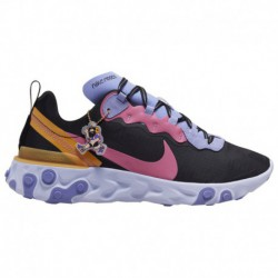 Nike React Element 55 Premium Nike React Element 55 - Men's Black/Magic Flamingo/Light Thistle | Premium