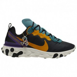 Nike React Element 55 Teal Nike React Element 55 - Men's Black/Pollen Rise/Mineral Teal | Premium