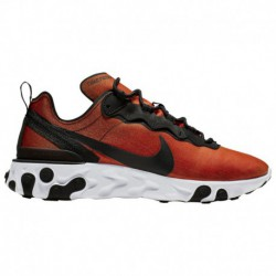 Sneaker Online Shop Nike Nike React Element 55 - Men's Black/Black/Tour Yellow/White | Color Shift