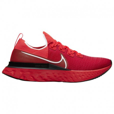 Nike China Online Shop Nike React Infinity Run Flyknit - Men's Bright Crimson/White/Black/Infrared | Red Lips Pack