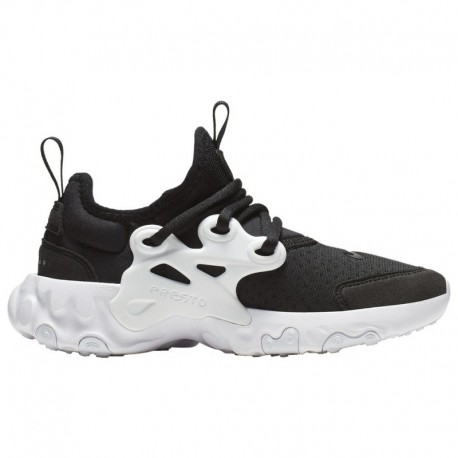 Nike React Presto Collab Nike React Presto - Boys' Preschool Black/White