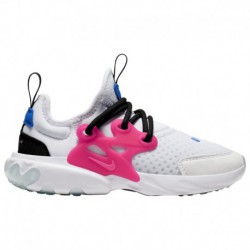 nike react white blue pink nike react element hyper pink nike react presto boys preschool white hyper pink photo blue