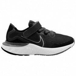 Nike Renew Rival Green Nike Renew Run - Boys' Preschool Black/Met Silver/White