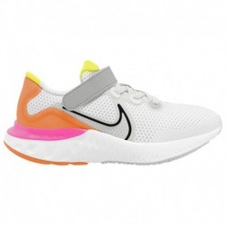 Nike Renew Lucent Trainers Nike Renew Run - Boys' Preschool White/Black/Platinum Tint