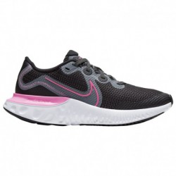 Nike Renew Lucent Pink Nike Renew Run - Girls' Grade School Black/Pink Glow/Light Smoke Grey
