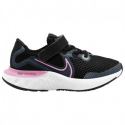 Nike Renew Lucent Women's Pink Nike Renew Run - Girls' Preschool Black/Pink Glow/Light Smoke Grey