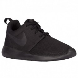 Nike Roshe Black Black Dark Grey Nike Roshe One - Women's Black/Black/Dark Grey | Essentials