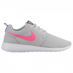 Nike Roshe One Platinum Nike Roshe One - Women's Pure Platinum/Laser Pink/Court Purple/White