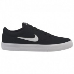Nike SB Charge Black White Nike SB Charge - Men's Black/White