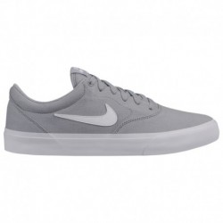 Nike SB Charge Grey Nike SB Charge - Men's Wolf Grey/White
