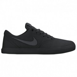 Nike SB Check Solar Canvas Black Anthracite Nike SB Check Solar - Men's Black/Anthracite | Canvas