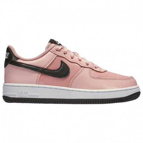 Nike Air Force Valentine's Day Nike Air Force 1 Low - Girls' Preschool Bleached Coral/Black/white   LV8 - Valentine's Day