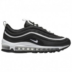 Nike Air Max 90 Essential Black White Metallic Silver Nike Air Max 97 - Boys' Grade School Black/White/Metallic Silver
