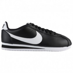 Buy Classic Shoes Online Nike Classic Cortez - Women's Black/White/Black | Leather