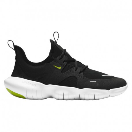 Boys Nike Free Grade School Running Shoes Nike Free Run 5.0 - Boys' Grade School Black/White/Anthracite/Volt