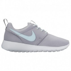 Nike Roshe One Grey Wolf Nike Roshe One - Girls' Grade School Wolf Grey/Glacier Blue/White