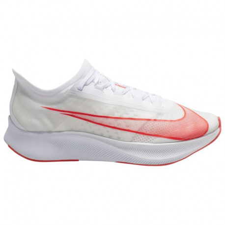 Nike Zoom Fly Red And White Nike Zoom Fly 3 - Men's White/Laser Crimson/Summit White | Red Lips Pack