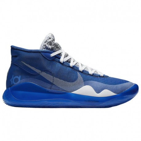 Men's Nike Zoom Assersion Nike Zoom Kd12 - Men's Durant, Kevin | Game Royal/White