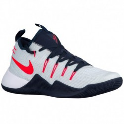 Men's Nike Hypershift Basketball Nike Hypershift - Men's White/Bright Crimson/Obsidian