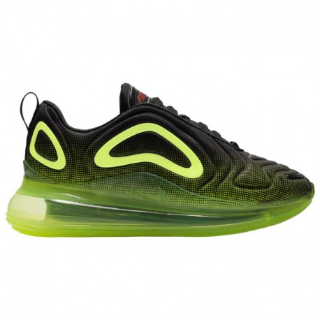 Nike Air Max 720 Trainer Cool Grey Volt Nike Air Max 720 - Boys' Grade School Black/Crimson/Volt | Retro Future