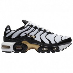 nike air max plus gs tn white metallic gold nike air max plus white gold nike air max plus boys grade school black metallic gol