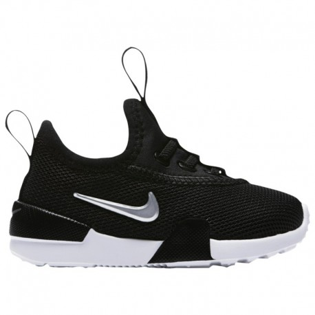 Toddler Nike Ashin Modern Nike Ashin - Girls' Toddler Black/Met Silver/White