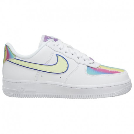 Nike Air Force 1 White Hyper Jade Volt Nike Air Force 1 07 Le Low - Women's White/barely Volt/Hyper Blue
