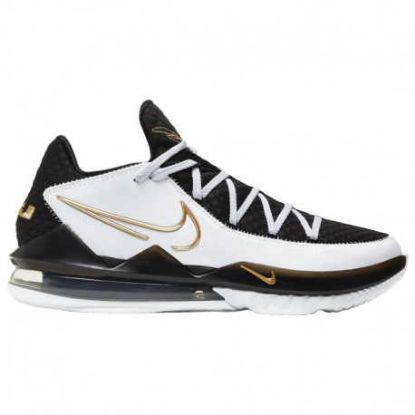 Nike Lebron 16 Low Black Metallic Gold White Wheat Nike LeBron 17 Low - Men's James, Lebron | White/Metallic Gold/Black