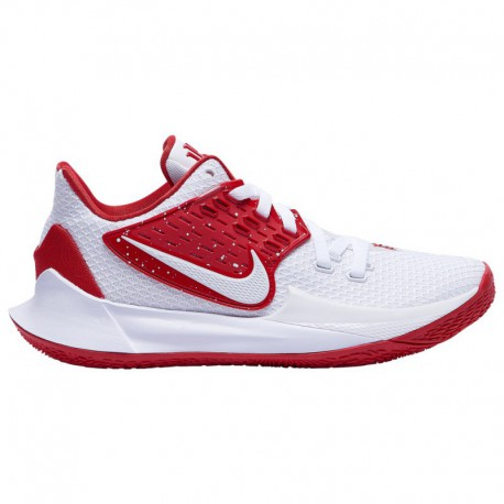 Red Nike Kyrie 3 Nike Kyrie Low 2 - Men's Irving, Kyrie | White/University Red