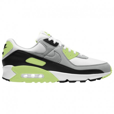 Nike Air Max 1 Green Strike Nike Air Max 90 - Men's White/Particle Grey/Black/Green Strike