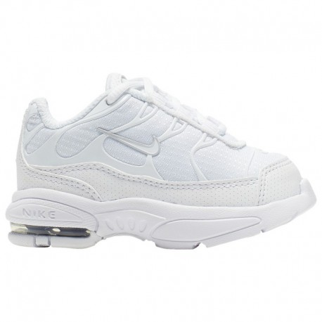 Nike Air Max Plus Womens Silver Nike Air Max Plus - Boys' Toddler White/White/Met Silver