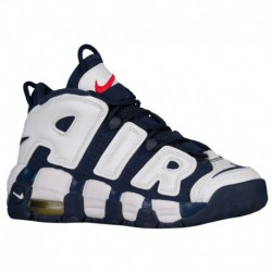 nike air more uptempo metallic silver nike air more uptempo gs navy nike air more uptempo boys grade school white midnight navy