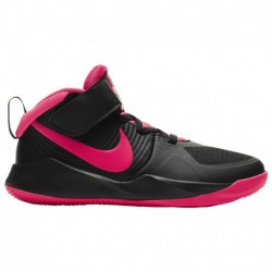 Nike Team Hustle Pink Nike Hustle D 9 - Boys' Preschool Black/Racer Pink/White